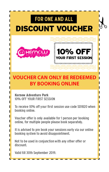 FOR ONE AND ALL - DISCOUNT VOUCHERS